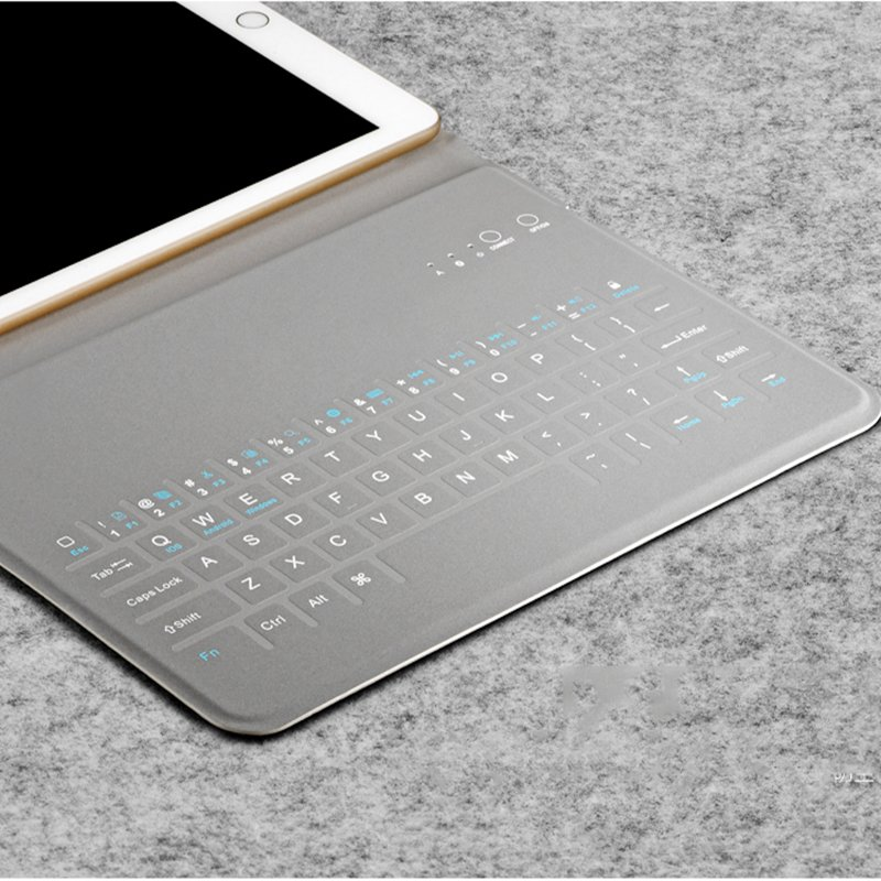 Waterproof iPad bluetooth keyboard case image
