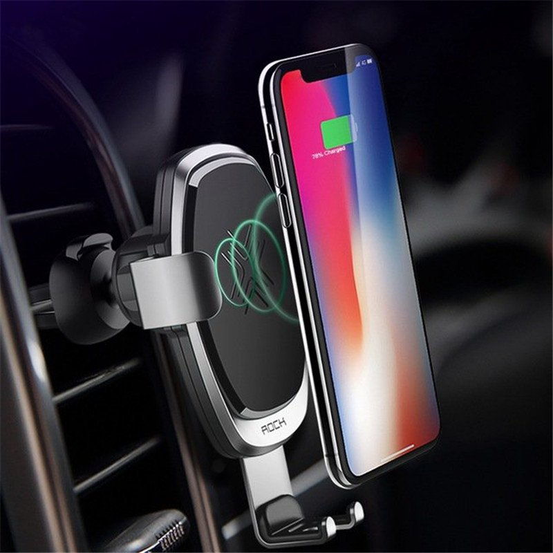 ROCK wireless car charger image