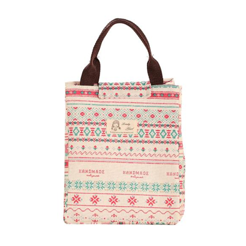 Pattern canvas lunch bag image