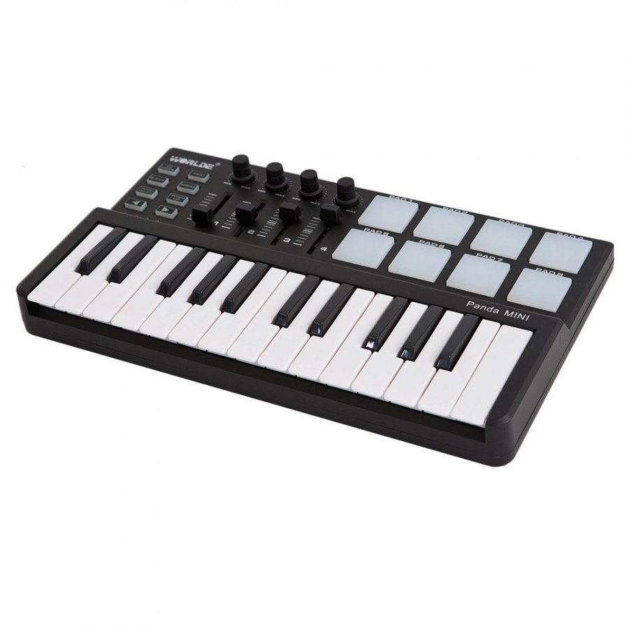 Mini USB Midi keyboard pad image