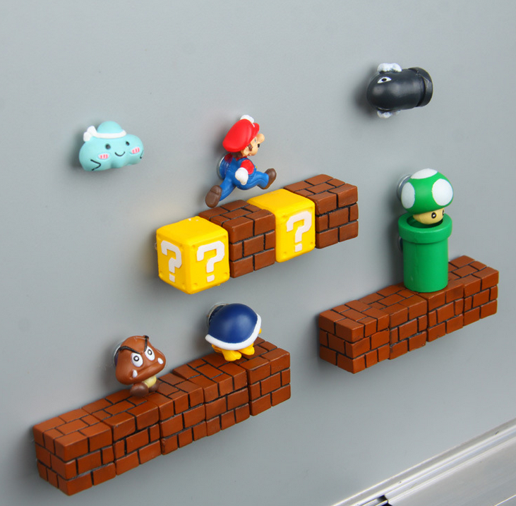 Super Mario magnets image