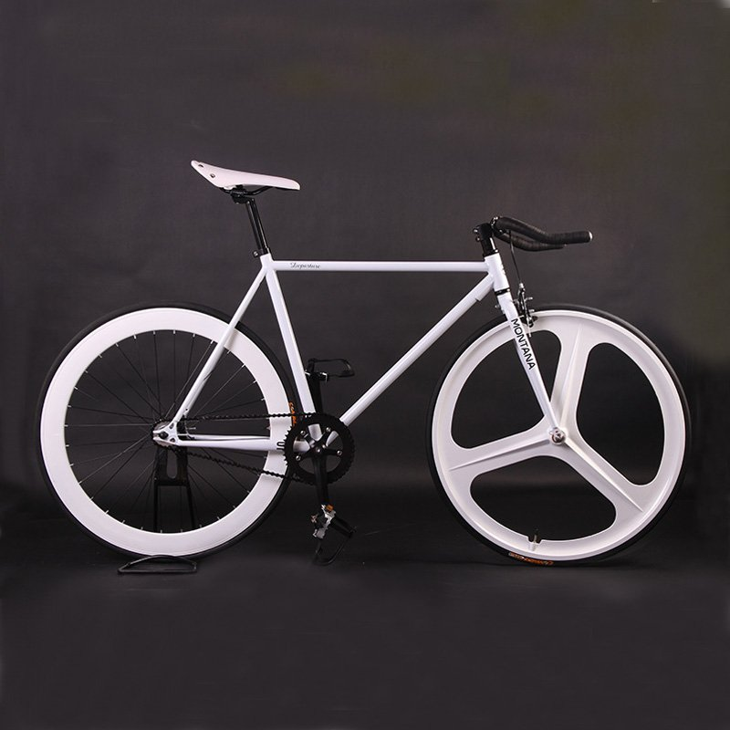 700C steel fixie bicycle image