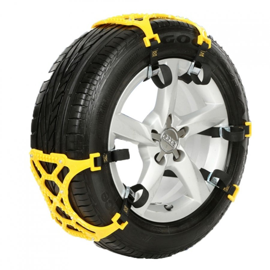 Car tire snow chain image