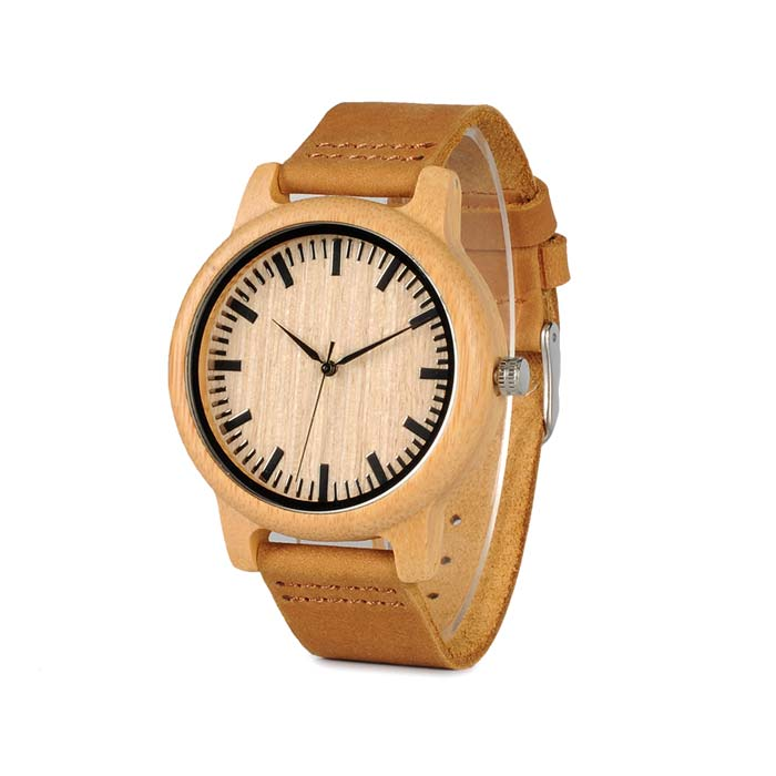 Unisex bamboo wooden watches image