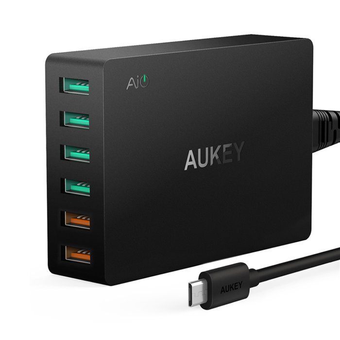 AUKEY USB 3.0 quick charger hub image