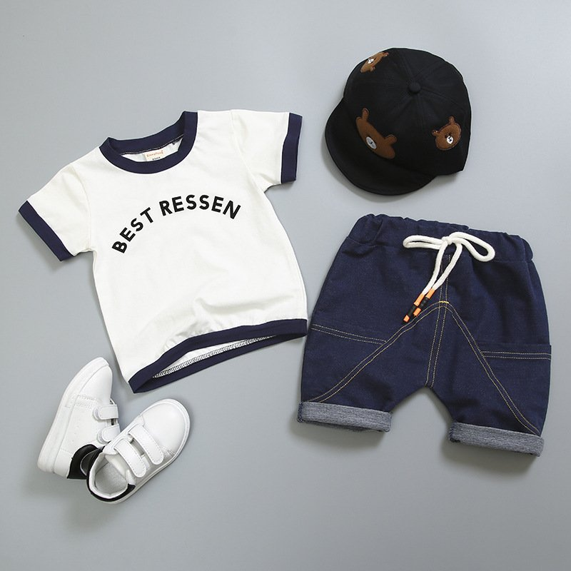 Baby summer clothes set image