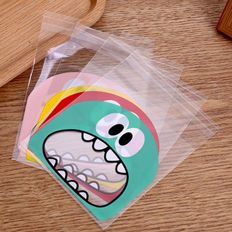 Little monster plastic bags image