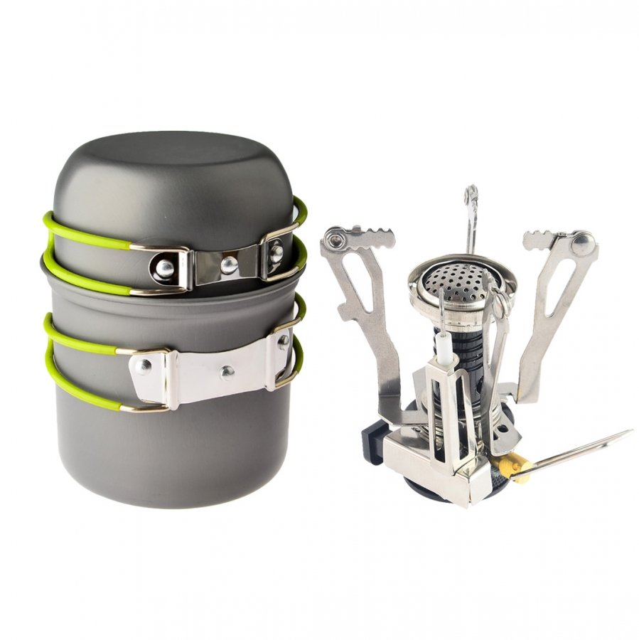 Backpacking cookware set image