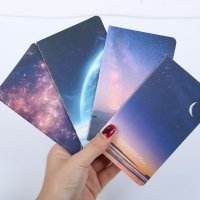 Space themed notebook