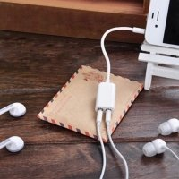 3.5mm headphone jack splitter