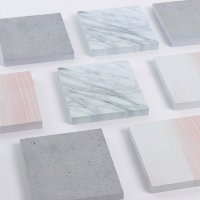 Marble post it notes