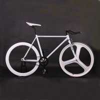 700C steel fixie bicycle