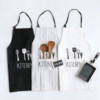 Unisex cotton kitchen aprons