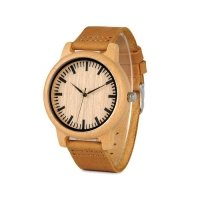 Unisex bamboo wooden watches