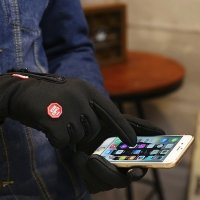 Waterproof windproof phone gloves