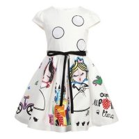 Baby girl cartoon style dress