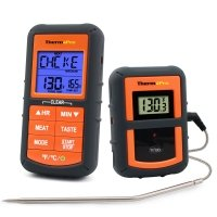 Wireless quick tip cooking thermometer