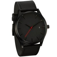 Black out mens watch
