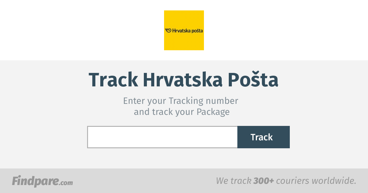 Croatian Post Tracking Get Updates And Track Your Package