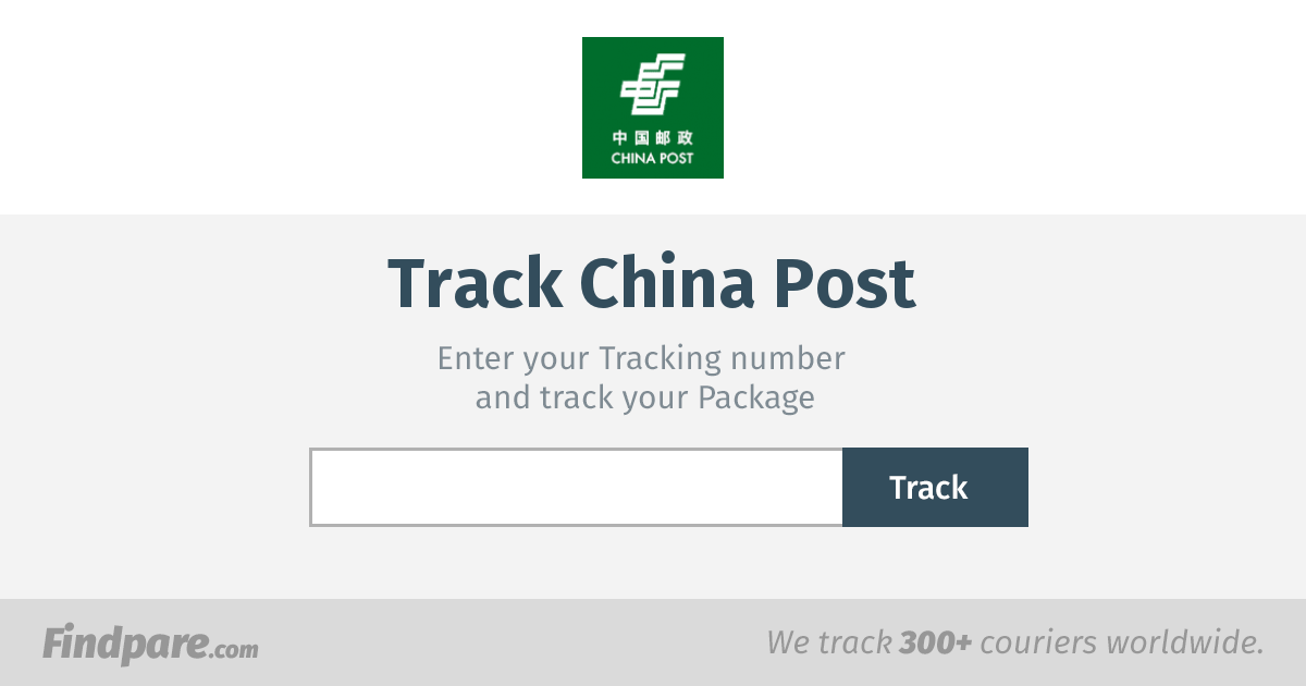 China Post Tracking | Get Updates And Track Your Package In Real-Time