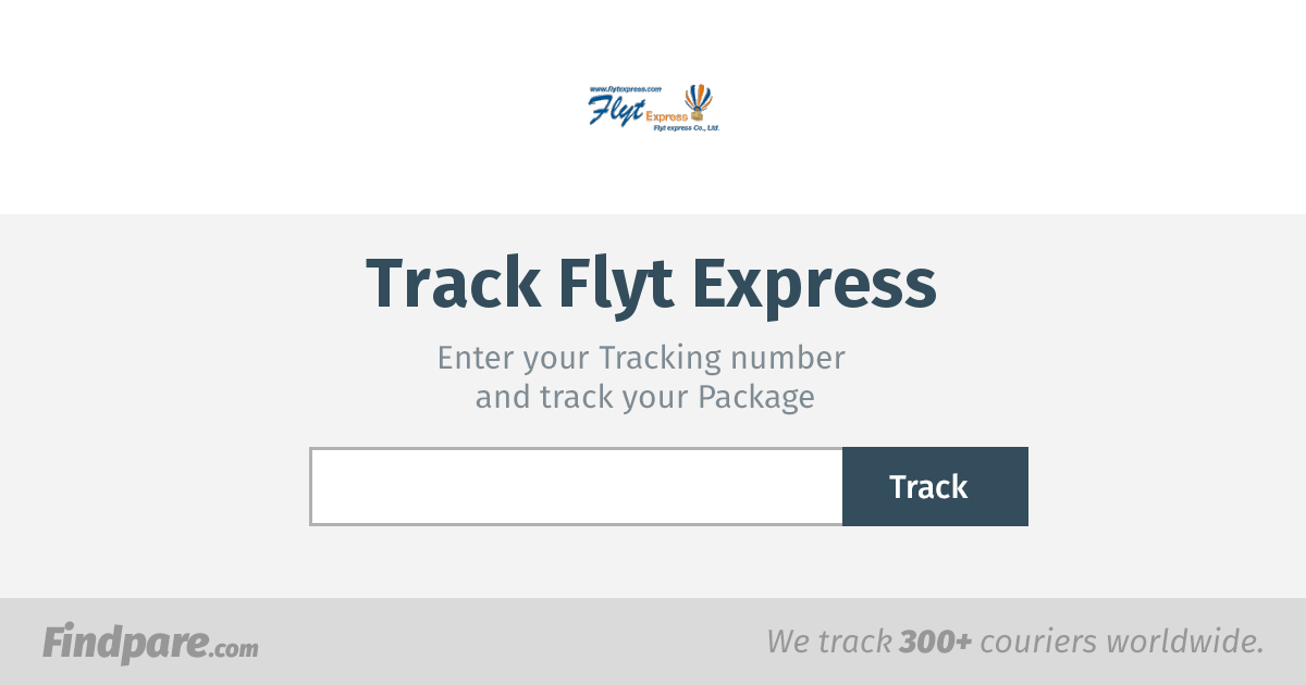 Flyt Express Tracking | Get Updates And Track Your Package