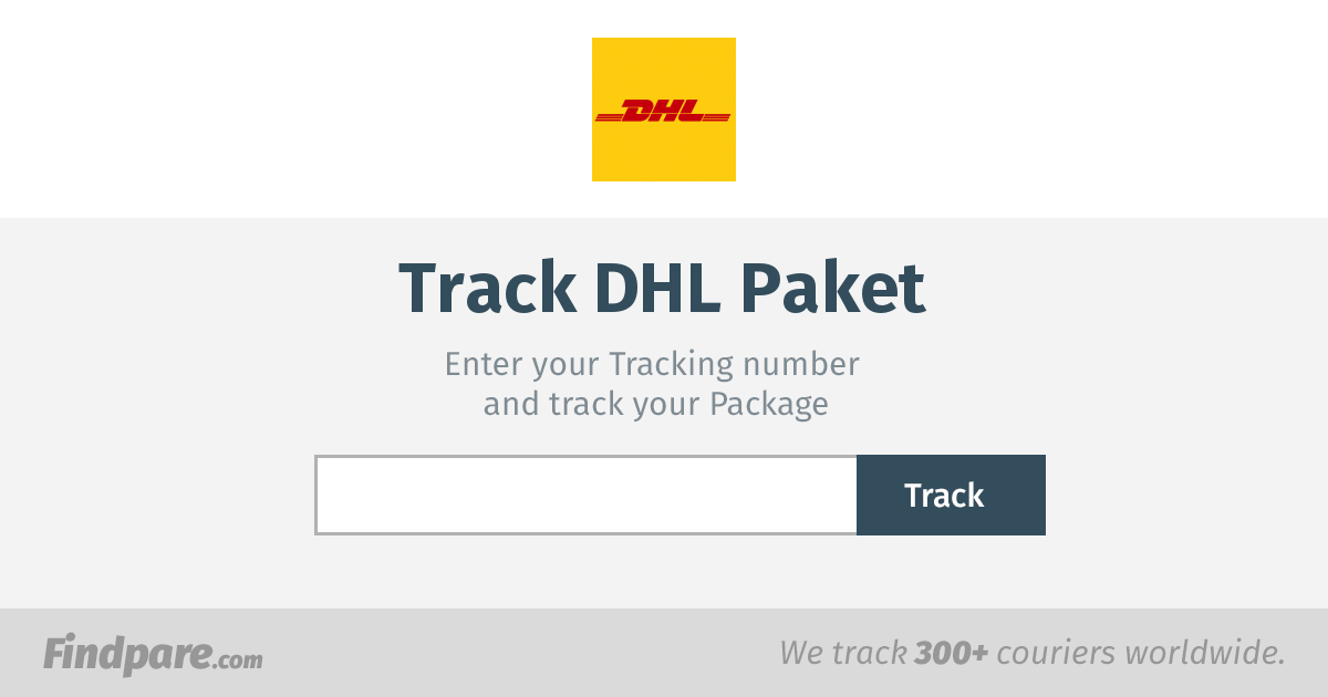 dhl paket tracking get updates and track your package in real time. Black Bedroom Furniture Sets. Home Design Ideas